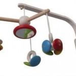 Современная музыкальная игрушка на кроватку