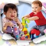 Карусели, дуги, подвески для детей