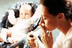 Как распознать курящих матерей?
