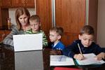 Дружные семьи способствуют лучшей успеваемости детей